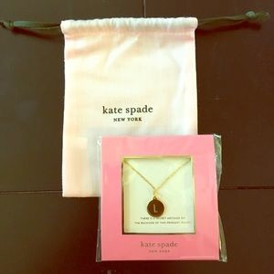 Unopened, never worn kate spade initial necklace.